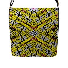 Select Accine Flap Messenger Bag (l)  by MRTACPANS
