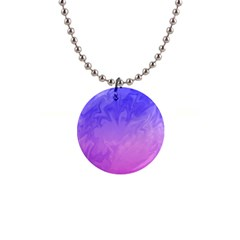 Ombre Purple Pink Button Necklaces by BrightVibesDesign