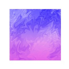 Ombre Purple Pink Small Satin Scarf (square) by BrightVibesDesign