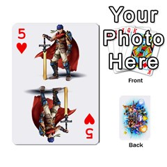 Super Smash Bros  By Cheesedork   Playing Cards 54 Designs   5gmrv3cr5mo8   Www Artscow Com Front - Heart5