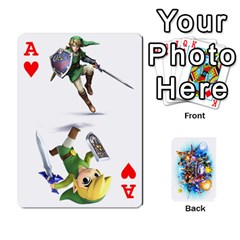 Ace Super Smash Bros  By Cheesedork   Playing Cards 54 Designs   5gmrv3cr5mo8   Www Artscow Com Front - HeartA