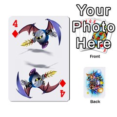 Super Smash Bros  By Cheesedork   Playing Cards 54 Designs   5gmrv3cr5mo8   Www Artscow Com Front - Diamond4