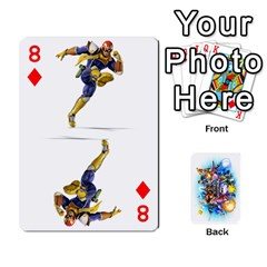 Super Smash Bros  By Cheesedork   Playing Cards 54 Designs   5gmrv3cr5mo8   Www Artscow Com Front - Diamond8