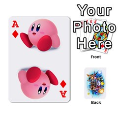 Ace Super Smash Bros  By Cheesedork   Playing Cards 54 Designs   5gmrv3cr5mo8   Www Artscow Com Front - DiamondA
