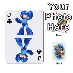Jack Super Smash Bros  By Cheesedork   Playing Cards 54 Designs   5gmrv3cr5mo8   Www Artscow Com Front - ClubJ