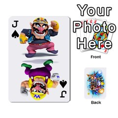 Jack Super Smash Bros  By Cheesedork   Playing Cards 54 Designs   5gmrv3cr5mo8   Www Artscow Com Front - SpadeJ