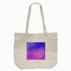 Ombre Purple Pink Tote Bag (cream) by BrightVibesDesign