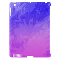 Ombre Purple Pink Apple Ipad 3/4 Hardshell Case (compatible With Smart Cover) by BrightVibesDesign