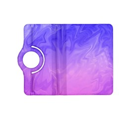 Ombre Purple Pink Kindle Fire HD (2013) Flip 360 Case by BrightVibesDesign