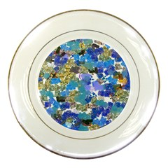 Mixed Brushes                                                           			porcelain Plate by LalyLauraFLM