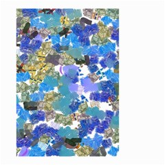 Mixed Brushes                                                           Small Garden Flag by LalyLauraFLM