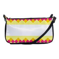 Rhombus And Stripes                                                             shoulder Clutch Bag by LalyLauraFLM