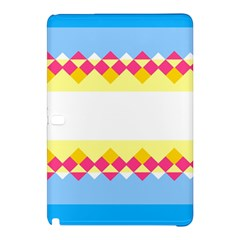Rhombus And Stripes                                                             			samsung Galaxy Tab Pro 12 2 Hardshell Case by LalyLauraFLM