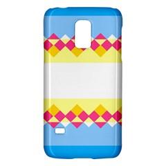 Rhombus And Stripes                                                             samsung Galaxy S5 Mini Hardshell Case by LalyLauraFLM