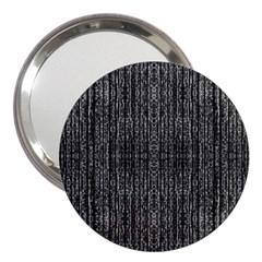 Dark Grunge Texture 3  Handbag Mirrors by dflcprints