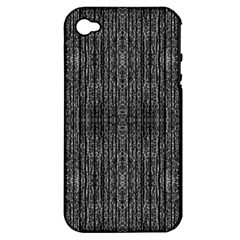 Dark Grunge Texture Apple Iphone 4/4s Hardshell Case (pc+silicone) by dflcprints