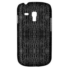 Dark Grunge Texture Samsung Galaxy S3 Mini I8190 Hardshell Case by dflcprints