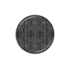 Dark Grunge Texture Hat Clip Ball Marker (4 Pack) by dflcprints