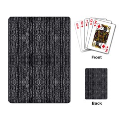 Dark Grunge Texture Playing Card by dflcprints