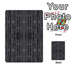 Dark Grunge Texture Multi Purpose Cards (rectangle)  by dflcprints