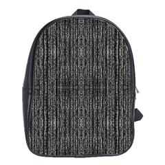 Dark Grunge Texture School Bags (xl)  by dflcprints