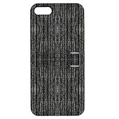 Dark Grunge Texture Apple Iphone 5 Hardshell Case With Stand by dflcprints