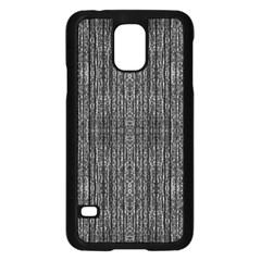 Dark Grunge Texture Samsung Galaxy S5 Case (black) by dflcprints