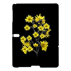 Sunflowers Over Black Samsung Galaxy Tab S (10 5 ) Hardshell Case  by dflcprints