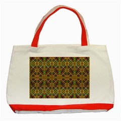 Roulette Classic Tote Bag (red) by MRTACPANS