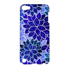 Azurite Blue Flowers Apple Ipod Touch 5 Hardshell Case by KirstenStar