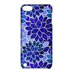 Azurite Blue Flowers Apple iPod Touch 5 Hardshell Case with Stand