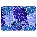 Azurite Blue Flowers Samsung Galaxy Tab 8.9  P7300 Flip Case
