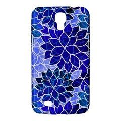 Azurite Blue Flowers Samsung Galaxy Mega 6.3  I9200 Hardshell Case by KirstenStar