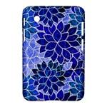 Azurite Blue Flowers Samsung Galaxy Tab 2 (7 ) P3100 Hardshell Case