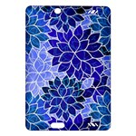 Azurite Blue Flowers Amazon Kindle Fire HD (2013) Hardshell Case
