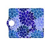 Azurite Blue Flowers Kindle Fire HDX 8.9  Flip 360 Case