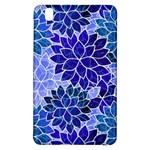 Azurite Blue Flowers Samsung Galaxy Tab Pro 8.4 Hardshell Case