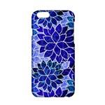 Azurite Blue Flowers Apple iPhone 6/6S Hardshell Case