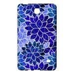 Azurite Blue Flowers Samsung Galaxy Tab 4 (7 ) Hardshell Case