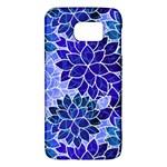 Azurite Blue Flowers Galaxy S6