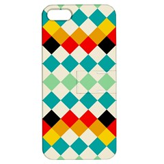 Rhombus Pattern                                                              			apple Iphone 5 Hardshell Case With Stand by LalyLauraFLM
