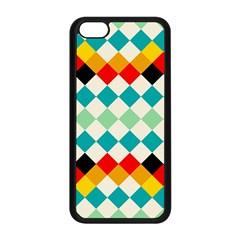 Rhombus Pattern                                                              apple Iphone 5c Seamless Case (black) by LalyLauraFLM
