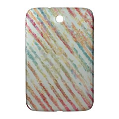 Diagonal Stripes Painting                                                               			samsung Galaxy Note 8 0 N5100 Hardshell Case by LalyLauraFLM