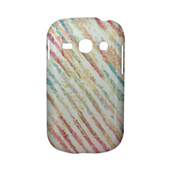 Diagonal stripes painting                                                               Samsung Galaxy S6810 Hardshell Case by LalyLauraFLM
