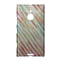 Diagonal Stripes Painting                                                               nokia Lumia 1520 Hardshell Case by LalyLauraFLM