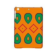 Rhombus And Leaves                                                                			apple Ipad Mini 2 Hardshell Case by LalyLauraFLM