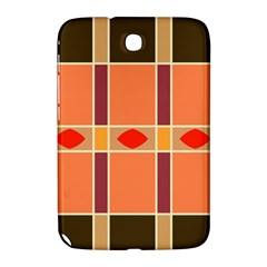 Shapes And Stripes                                                                 			samsung Galaxy Note 8 0 N5100 Hardshell Case by LalyLauraFLM