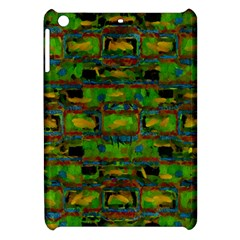 Paint Bricks                                                                 			apple Ipad Mini Hardshell Case by LalyLauraFLM