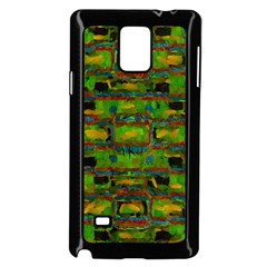Paint Bricks                                                                 			samsung Galaxy Note 4 Case (black) by LalyLauraFLM