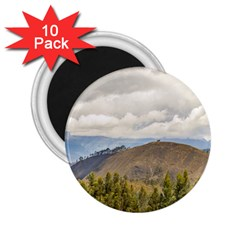 Ecuadorian Landscape At Chimborazo Province 2 25  Magnets (10 Pack)  by dflcprints